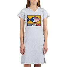 Jesus Saves Women's Nightshirt