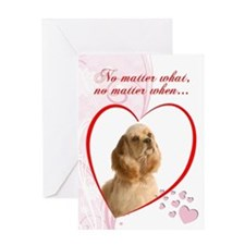 "Cocker Spaniel ""Just Whistle"" Valentine"