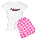 Retro Arkansas Women's Light Pajamas