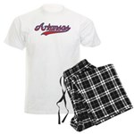 Retro Arkansas Men's Light Pajamas