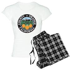 Orange County Seal Pajamas