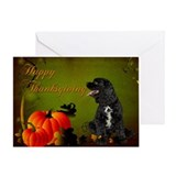 Cocker Spaniel Thanksgiving Card