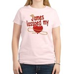 James Lassoed My Heart Women's Light T-Shirt