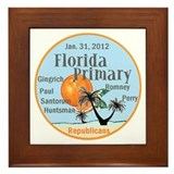 Florida Primary Framed Tile