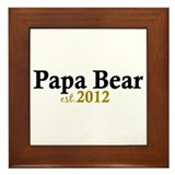 New Papa Bear 2012 Framed Tile