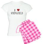 I Love Springfield Women's Light Pajamas