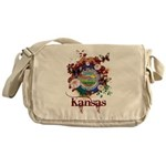 Butterfly Kansas Messenger Bag