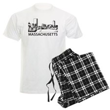 Massachusetts Skyline Pajamas