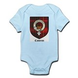 Cameron Clan Crest Tartan Infant Creeper