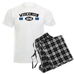 Wisconsin 1848 Men's Light Pajamas