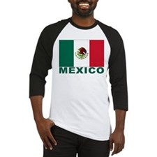 Mexico Flag Baseball Jersey