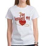 Jay Lassoed My Heart Women's T-Shirt