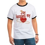 Jay Lassoed My Heart Ringer T