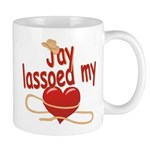 Jay Lassoed My Heart Mug