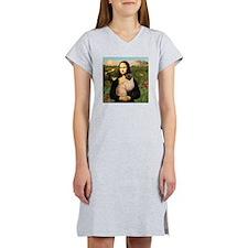 Mona's Siamese cat Women's Nightshirt