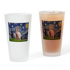 Starry Night / Sphynx Drinking Glass