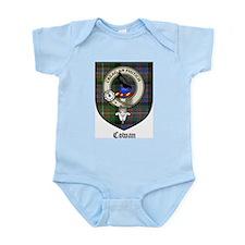 Cowan Clan Crest Tartan Infant Creeper