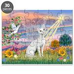 Cloud Angel & Devonshire Rex Puzzle