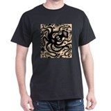 octopus Black T-Shirt