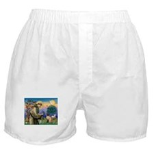 St Francis / Siamese Boxer Shorts