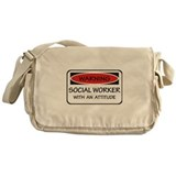 Attitude Social Worker Messenger Bag