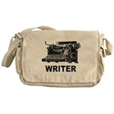 Vintage Writer Messenger Bag