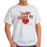 Jayden Lassoed My Heart Light T-Shirt