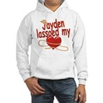 Jayden Lassoed My Heart Hooded Sweatshirt