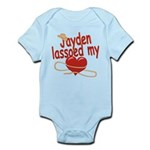 Jayden Lassoed My Heart Infant Bodysuit