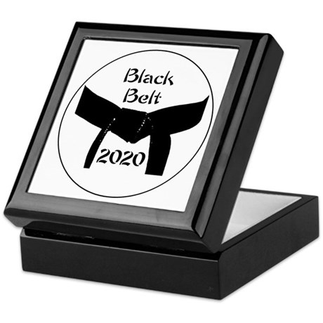 Martial Arts Black Belt Keepsake Box