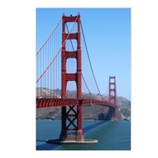San Francisco Golden Gate Postcards (Package of 8)