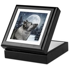 Norwegian Elkhound Keepsake Box