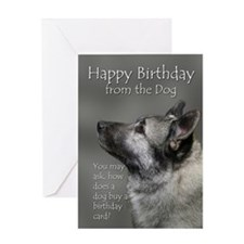 From the Elkhound Birthday Card