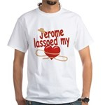 Jerome Lassoed My Heart White T-Shirt