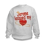 Jerome Lassoed My Heart Kids Sweatshirt
