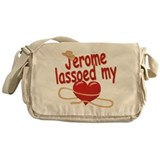Jerome Lassoed My Heart Messenger Bag