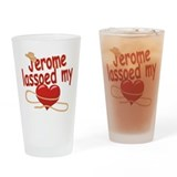 Jerome Lassoed My Heart Drinking Glass