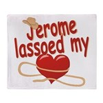 Jerome Lassoed My Heart Throw Blanket