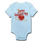 Jerry Lassoed My Heart Infant Bodysuit