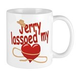 Jerry Lassoed My Heart Mug