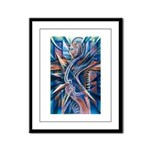 Lightning Thoughts Framed Panel Print