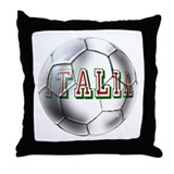 Italia Football Throw Pillow