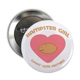 Hamster girl Button