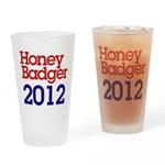 Honey Badger 2012 Drinking Glass