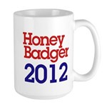 Honey Badger 2012 Large Mug
