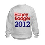 Honey Badger 2012 Kids Sweatshirt