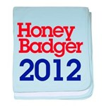 Honey Badger 2012 baby blanket