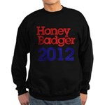 Honey Badger 2012 Sweatshirt (dark)