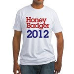 Honey Badger 2012 Fitted T-Shirt