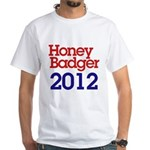 Honey Badger 2012 White T-Shirt